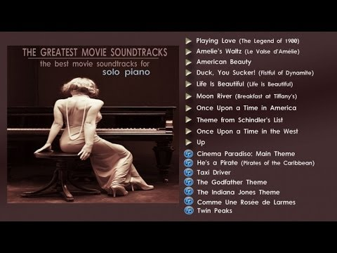 The Greatest Movie Soundtracks - Solo Piano