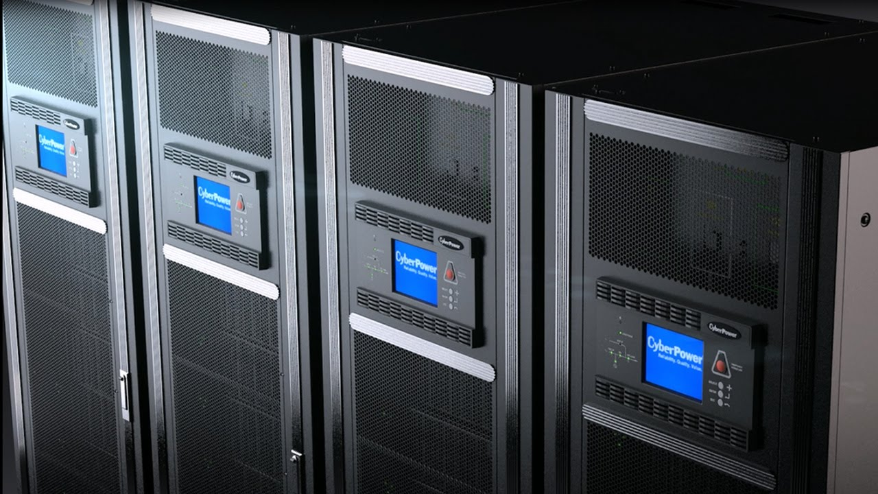 Cyberpower Datacenter Ups Systems Product Introduction