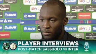SASSUOLO 3-4 INTER | ROMELU LUKAKU + LAUTARO MARTINEZ + CRISTIANO BIRAGHI INTERVIEWS [SUB ENG]