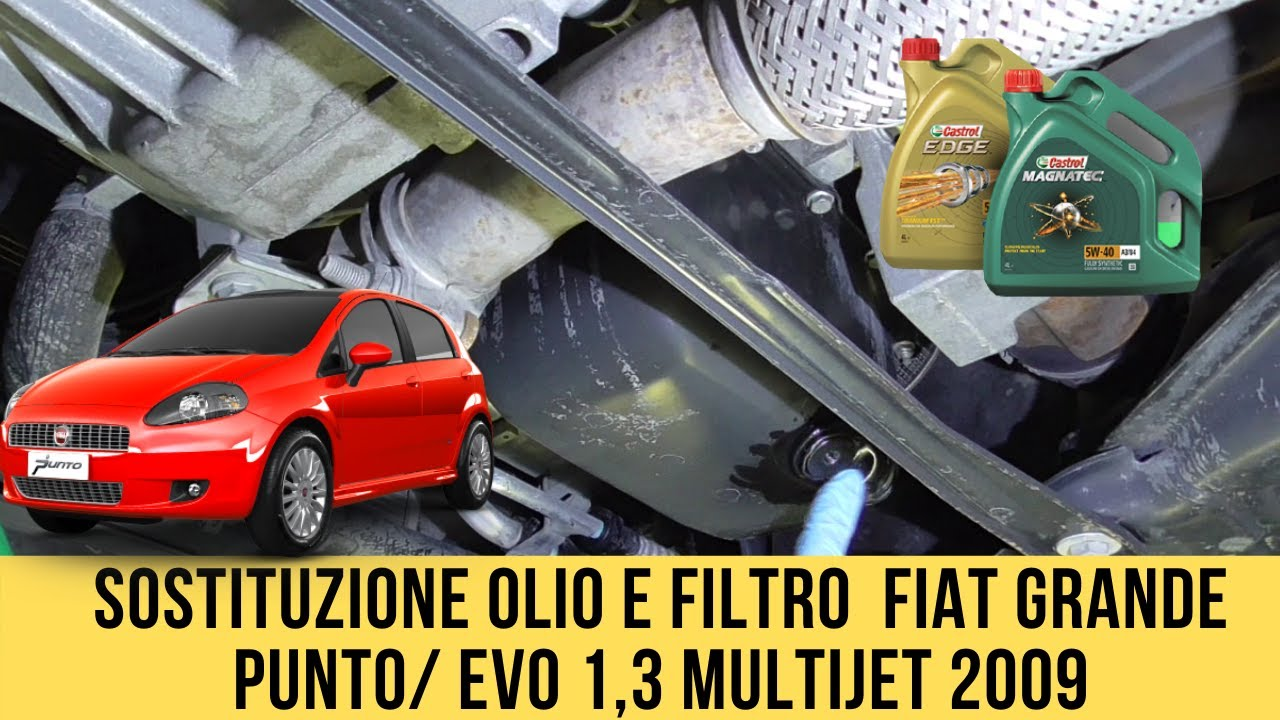 Olio motore FIAT PUNTO: catalogo per un Olio auto di qualità