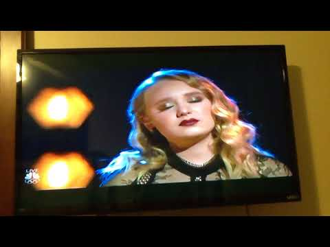 Adam And Addison-  Performance Duet -  Falling Slowly- The Voice , December 18, 2017.