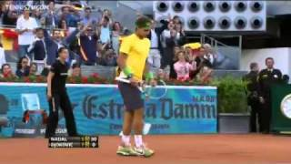 Djokovic Outduels Nadal In Madrid Final Highlights