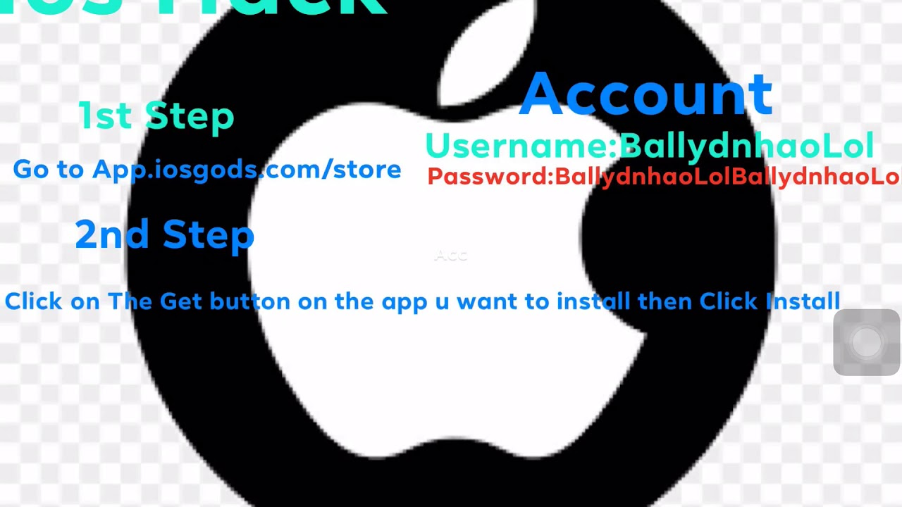 IosGods Hack Account Givaway!!!Hack Games with iosgods
