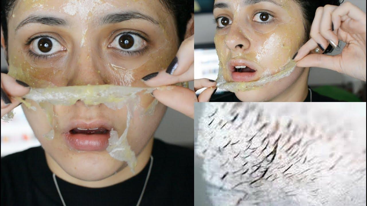 mascarilla casera para puntos en la nariz con gelatina