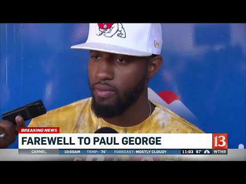 Paul George traded to Thunder