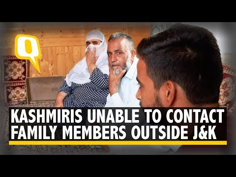 In Kashmir Shutdown, Families Struggle to Contact Relatives | The Quint