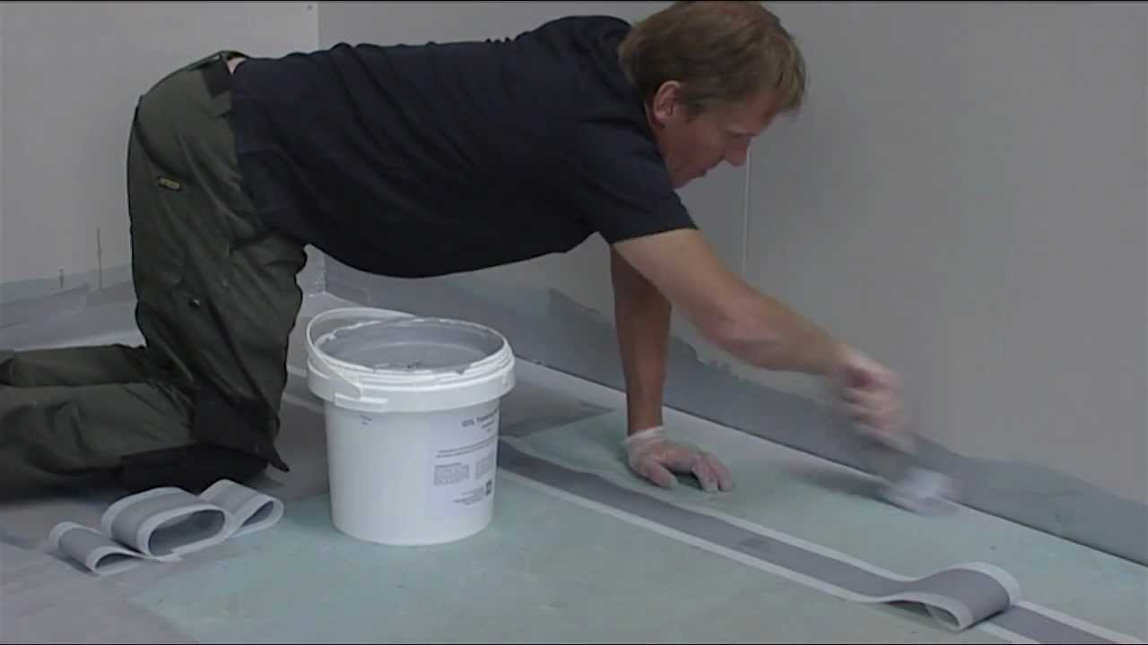 Wet Room Concealed Formers For A Tiled Floor Youtube
