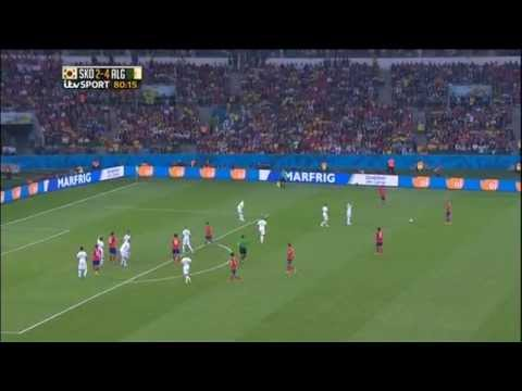 South Korea Algeria 2014 World Cup Full Game ITV