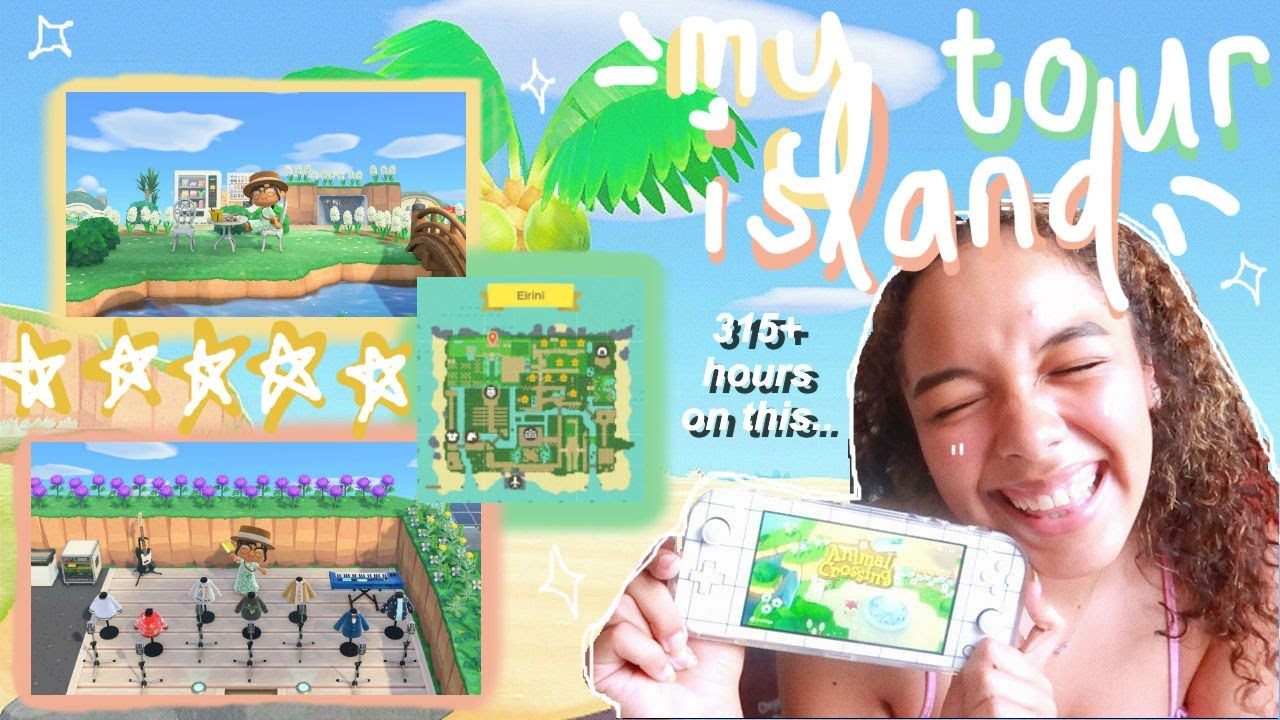 my (was a) five-star island tour (lol) | animal crossing: new horizons 🌱