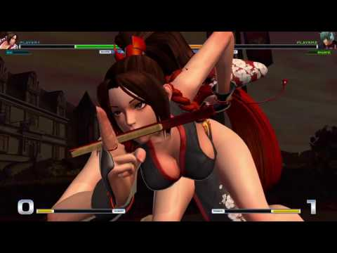 THE KING OF FIGHTERS XIV update 1.10 Mai Shiranui