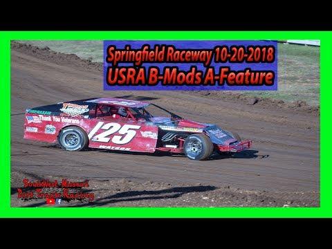 USRA B-Mods A-Feature - Lil Buck 31 - Springfield Raceway 10/20/2018
