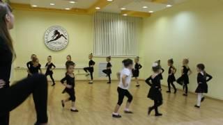 Видео-урок (I-семестр: декабрь 2016г.) - филиал Центральный, группа 4-6 лет, Детский танец