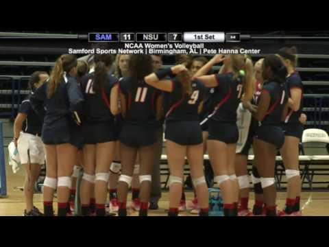 Volleyball: Samford vs. Nicholls State