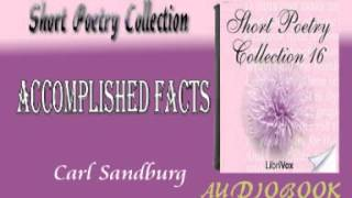 Accomplished Facts Carl Sandburg Audiobook Short Poetry