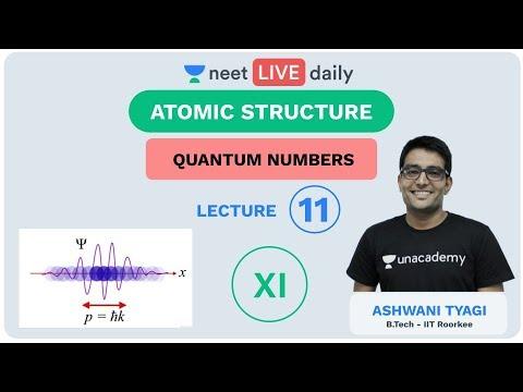 Atomic Structure - Lecture 11   Unacademy NEET   LIVE DAILY   NEET Chemistry   Ashwani Tyagi