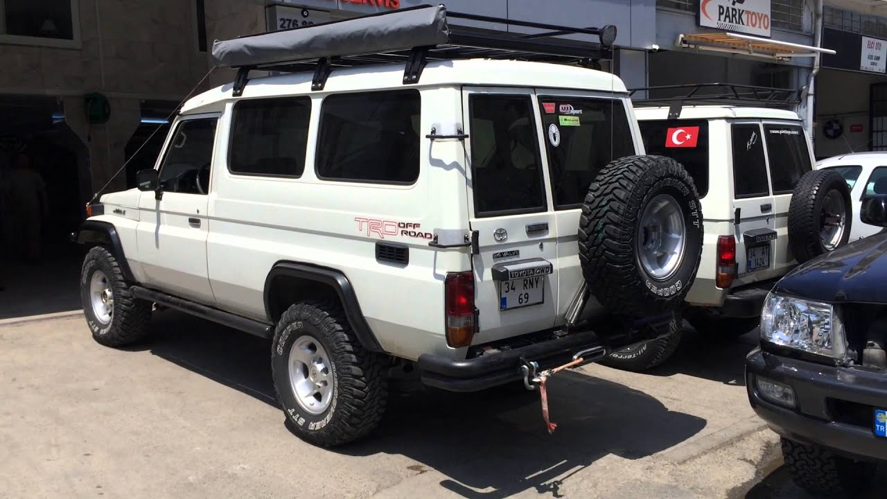 Toyota Land Cruiser 75 Series