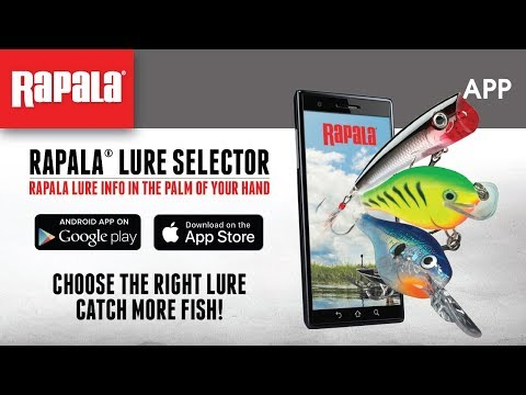 Rapala Lure Selector App Android Ios Youtube