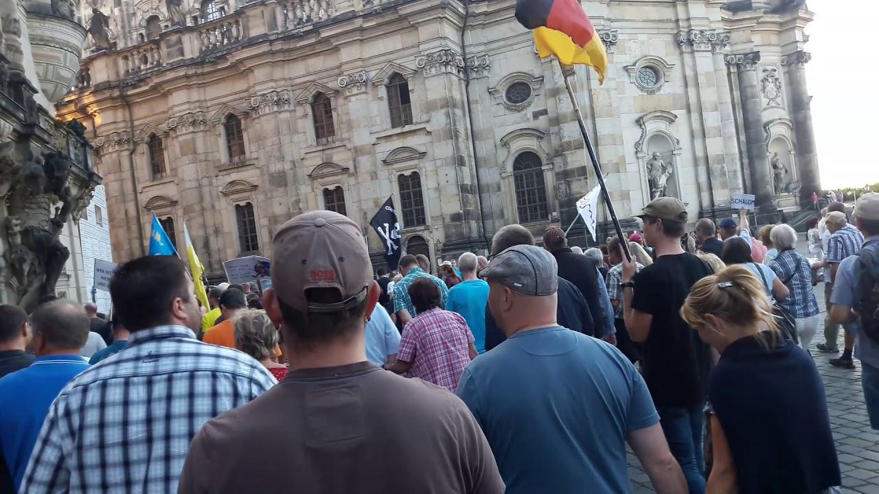 Heute Pegida Dresden