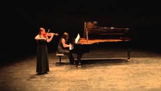 Edward Elgar: Chanson dę nuit op.15/1 - Anna-Maria Kotani (vl), Hanna Lee (piano)