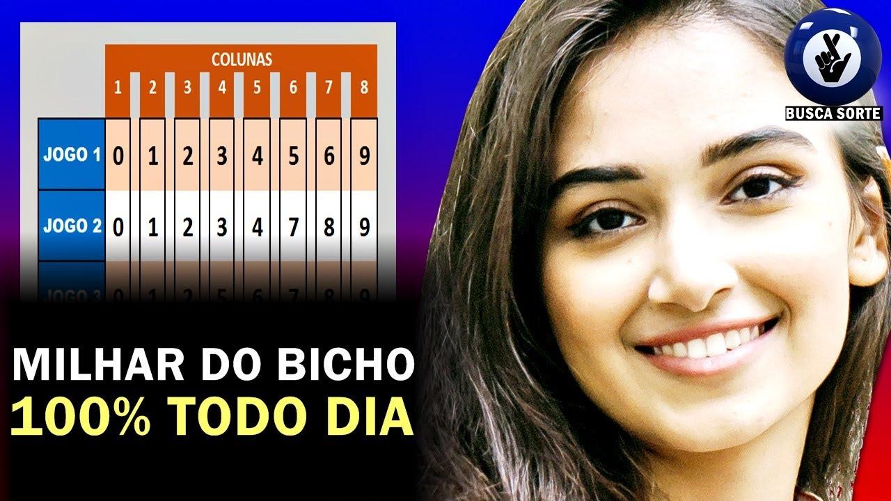 MILHAR JOGO DO BICHO (JB) 100% TODO DIA!