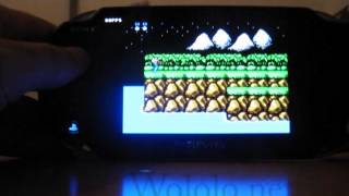 NesterJ (NES emulator) running on the PS Vita 2.12