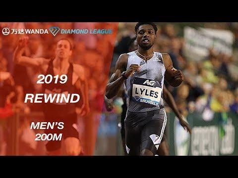 Men's 200m - Wanda Diamond League 2019