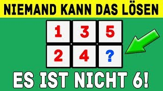 7 Rätsel - die nur die klügsten 5% lösen können!
