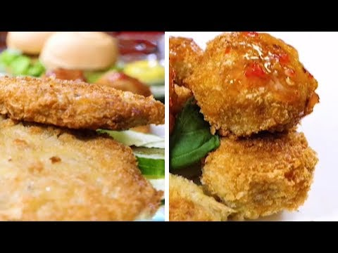 Homemade Galunggong (Mackarel Scad) Burger Recipe | Cook Eat Right