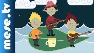 Karaván Együttes - Esti kérdések (gyerekdal, animáció) | MESE TV