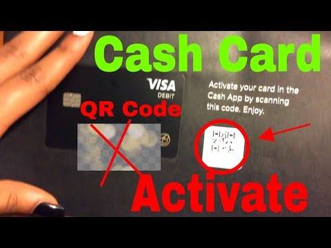 ✅  How To Activate Cash App Cash Card With QR Code 🔴
