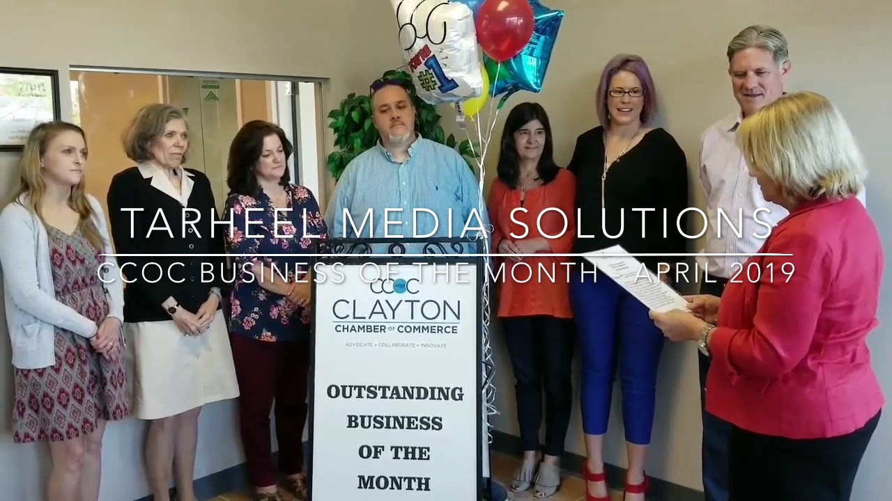 Tarheel Media Solutions - CCOC's Outstanding Business of the Month