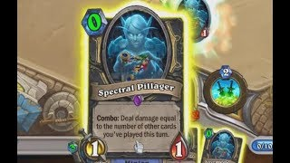 Spectral Pillager OTK in Hearthstone