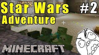 MINECRAFT #02 - Nieder mit Darth Vader! - Star Wars Adventure Map [German] [HD/1080p]