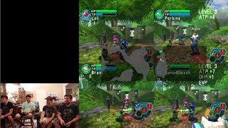 Let's Play: Phantasy Star Online Episode I & II Plus (GameCube 4 player)
