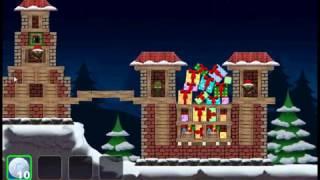 Crazy Christmas ballistic like a Angry Birds game