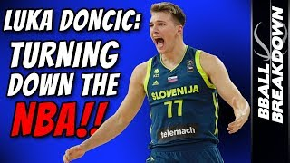 LUKA DONCIC EXCLUSIVE: He's Turning Down The NBA