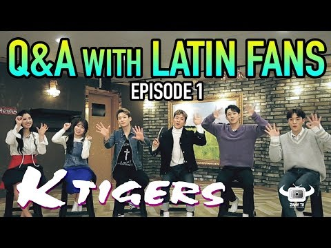 KTIGERS speak Spanish and more on this Q&A with Latin Fans!