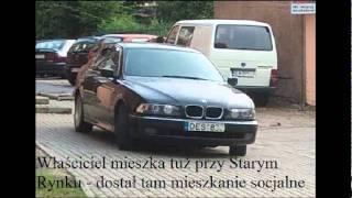 Czym jeżdżą Czeczeni w Łomży 2017 Video