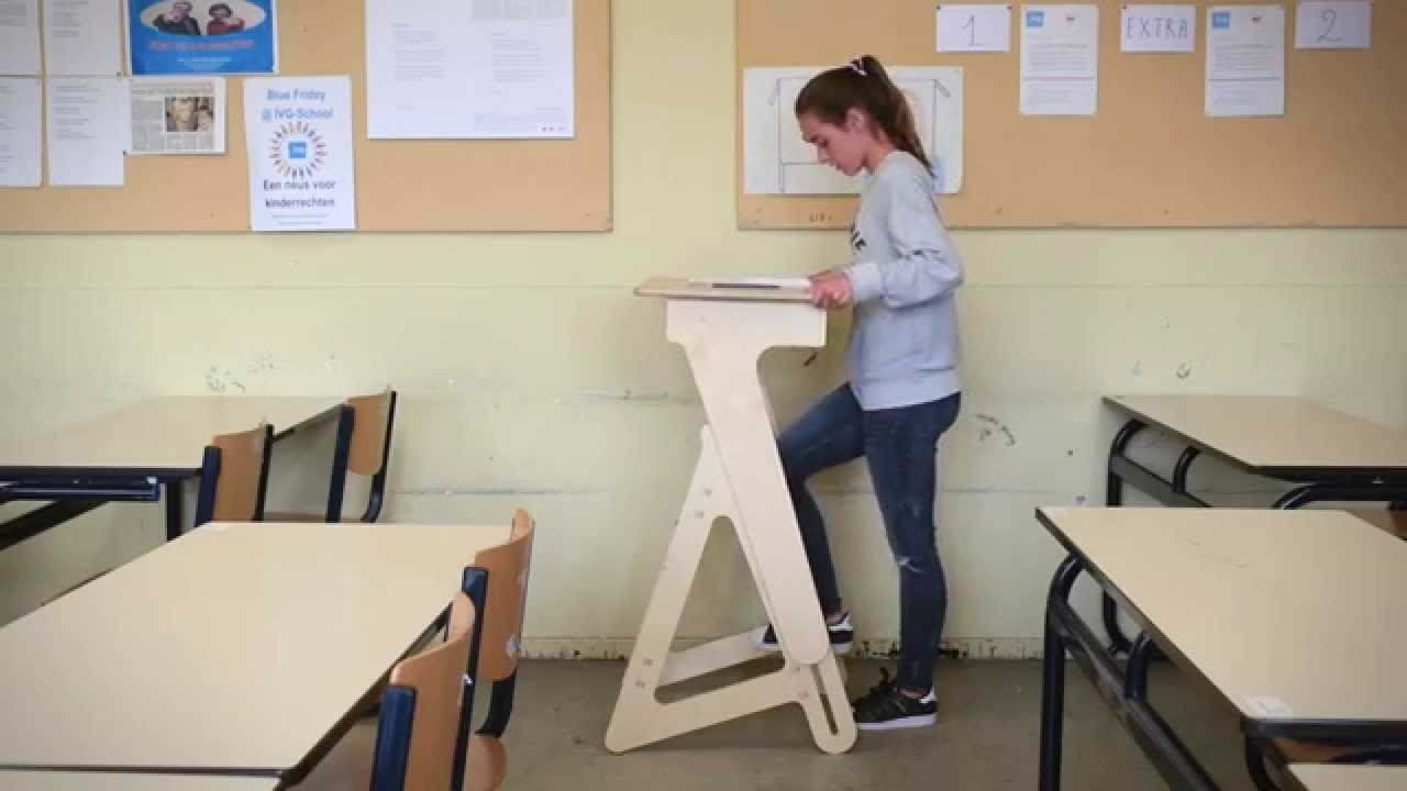 Adjustable Stand Up Desk >> Our Kickstarter video. - YouTube