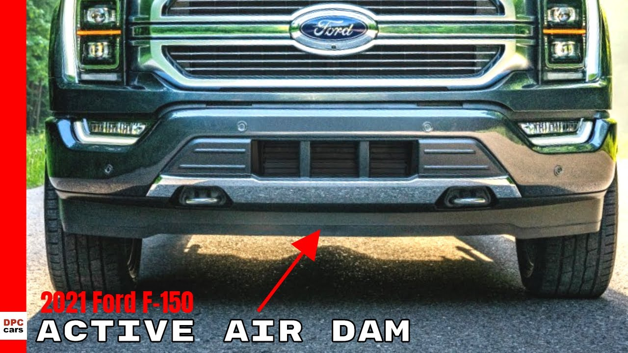 2021 Ford F150 Active Air Dam Makes The Most Aerodynamic F 150 Truck Ever Youtube