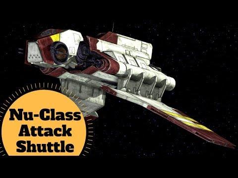 The LAAT Gunship Upgrade? - Nu-class Attack Shuttle - Republic Attack Shuttle - Star Wars Ships Lore
