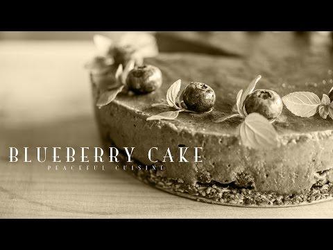 [No Music] How to make Blueberry Cake