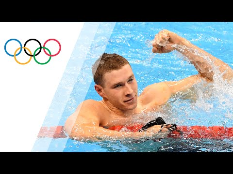 Gold for USA's Murphy in Men's 100m Back