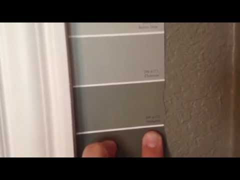 Painted Interior Colors SW 6172 Hardware SW 6171 Chatroom  YouTube