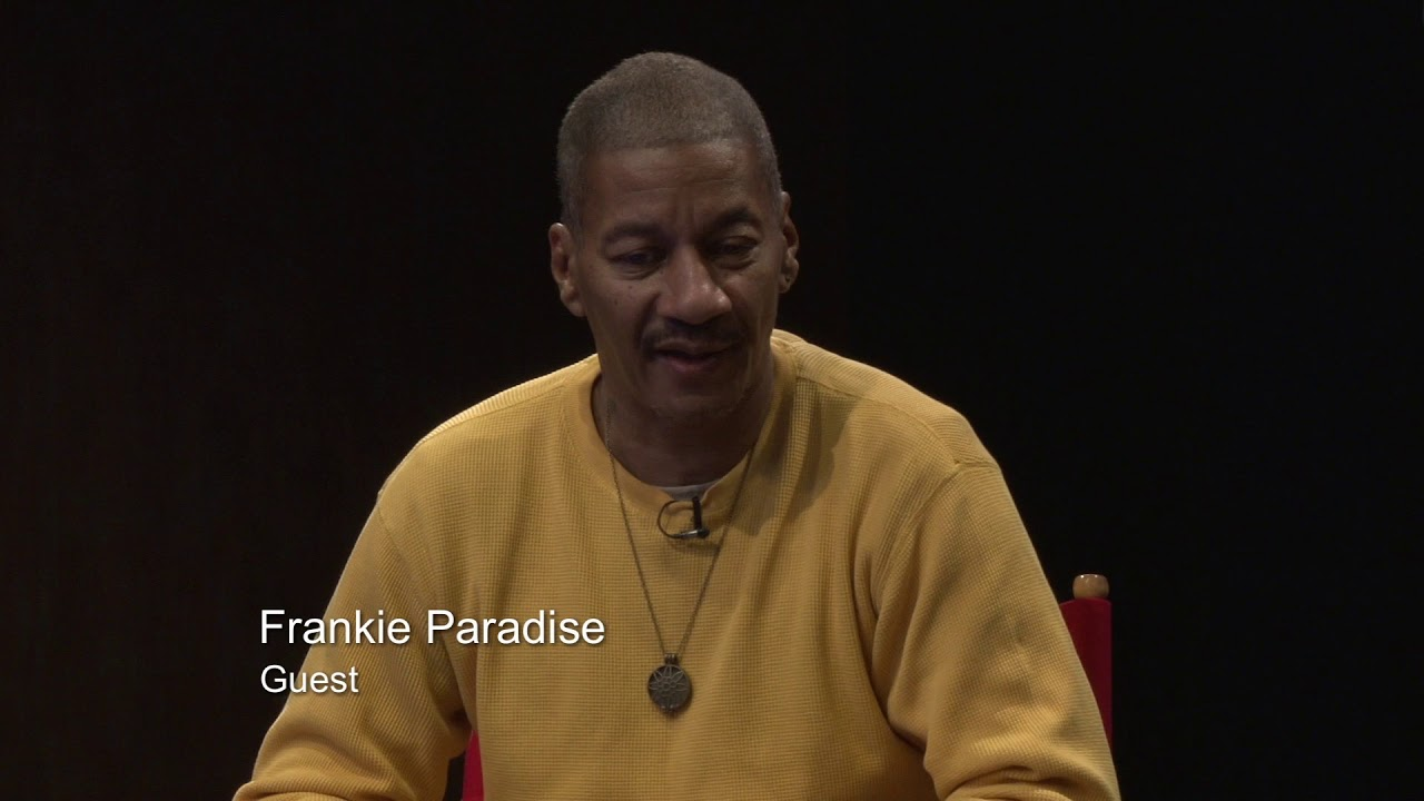 FRANKIE  PARADISE INVERVIEW  HOSTED BY TYRONE LOWE 22