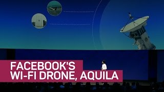 Facebook's Wi-Fi drone, Aquila, improves wireless data speeds