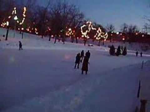 Girls Skating in the Park (Parc Lafontaine Montreal)