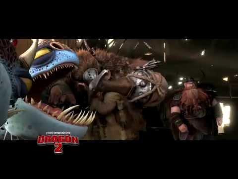 Detrás de cámaras Como Entrenar a tu Dragón 2
