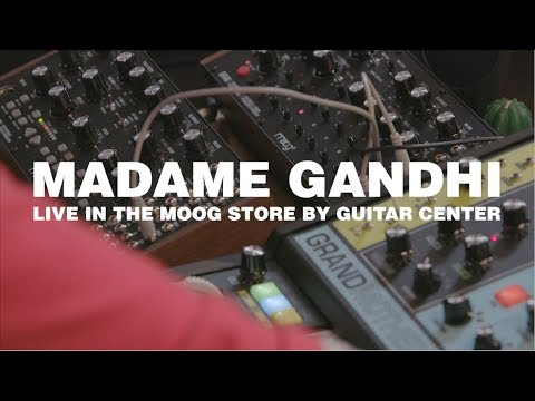 Madame Gandhi Live in the Moog Store by Guitar Center