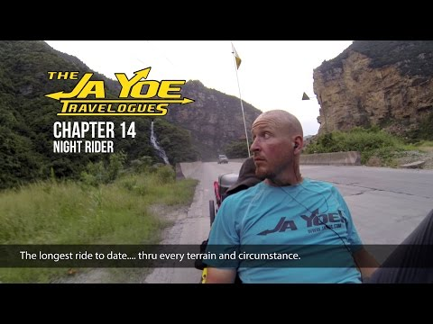 Night Rider | JaYoe Travelogue | Chapter 14